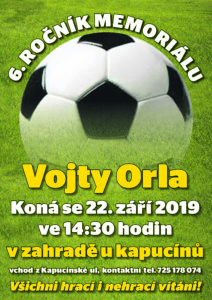 Memoriál Vojty Orla – 6. ročník
