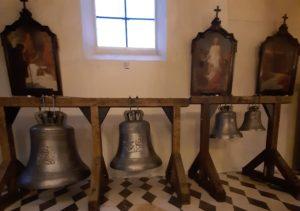 Poděkování za dary na nové zvony
